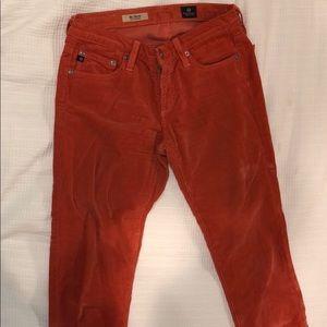 AG corduroy pants